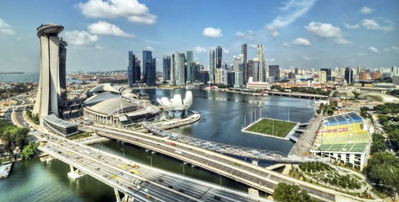 Singapur mantiene meta de turistas extranjeros hinh anh 1
