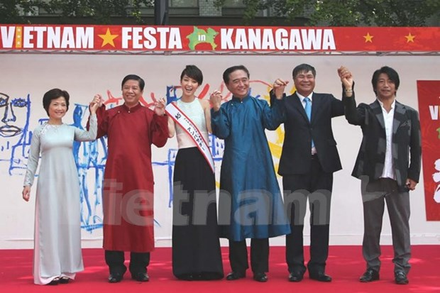Festival cultural fortalece enlace entre pueblos vietnamita y japones hinh anh 1