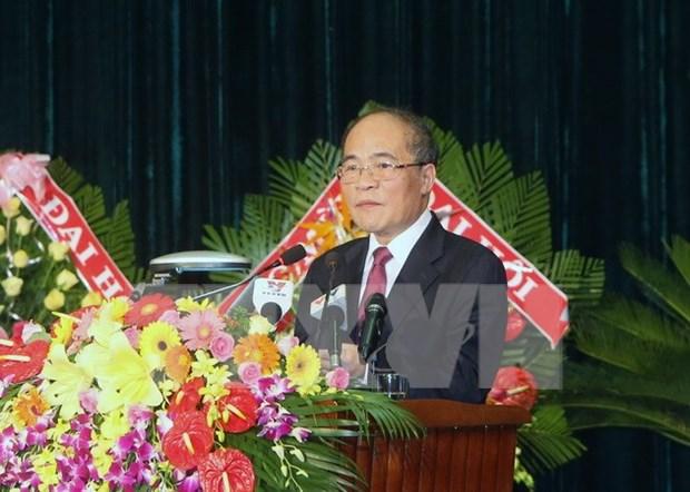 Lider parlamentario insta a Khanh Hoa impulsar avance socioeconomico hinh anh 1