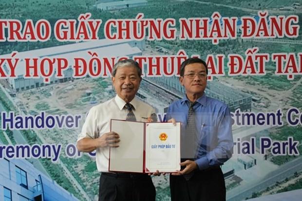 Inversion taiwanesa en construccion de planta de neumatico en Dong Nai hinh anh 1