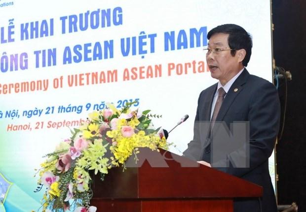 Estrenan portal informativo ASEAN Vietnam hinh anh 1