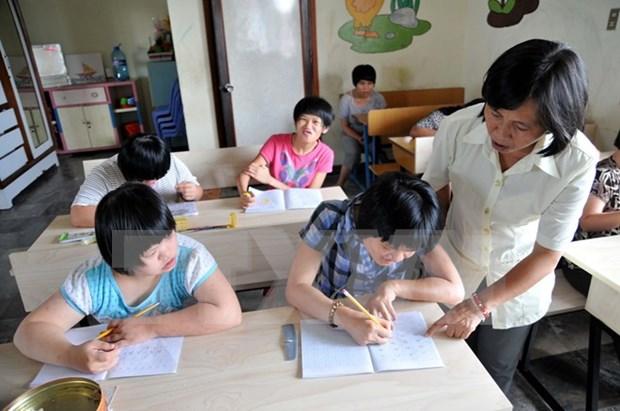 Asistencia internacional para ninos discapacitados vietnamitas hinh anh 1