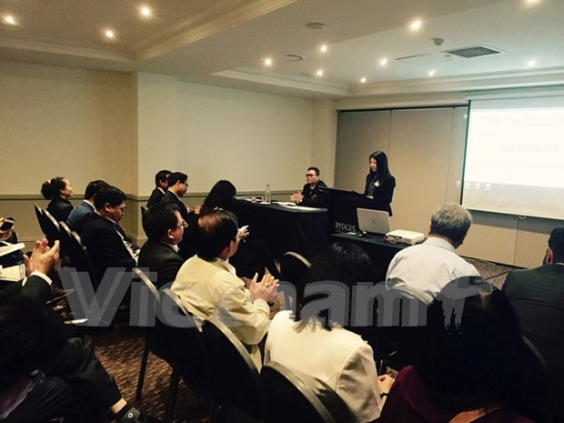 Inversores vietnamitas exploran oportunidades en Australia hinh anh 1
