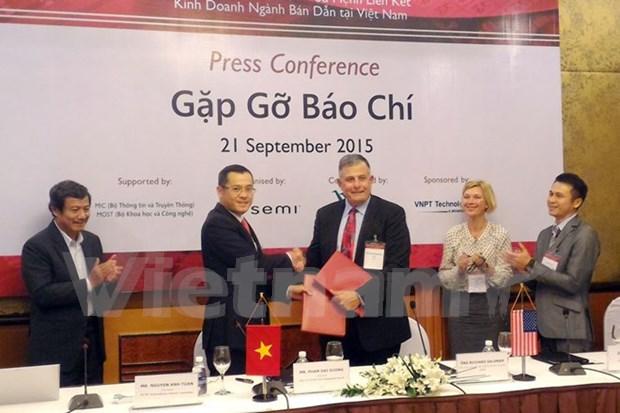 Vietnam espera desarrollar industria de semiconductores hinh anh 1