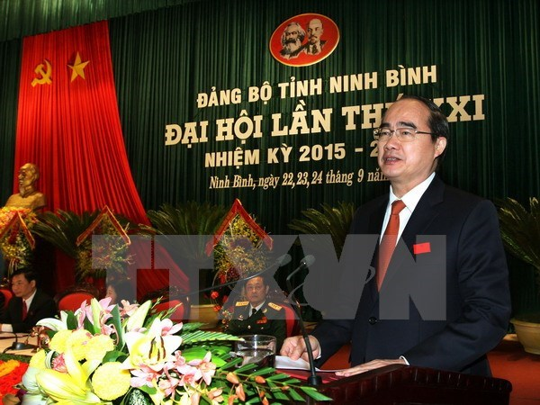 Celebran localidades vietnamitas asambleas partidistas hinh anh 1