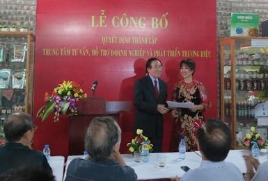 Crean en Vietnam centro para desarrollo de marcas comerciales hinh anh 1
