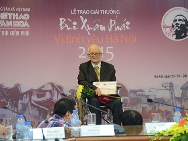 Premio de VNA honra amor a Hanoi hinh anh 1