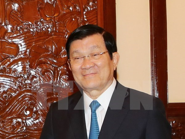 Presidente de Vietnam parte a Estados Unidos hinh anh 1