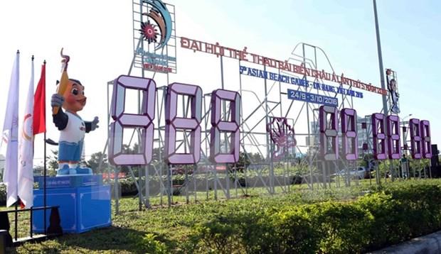 Resta un ano para los V Juegos Asiaticos de Playa hinh anh 1