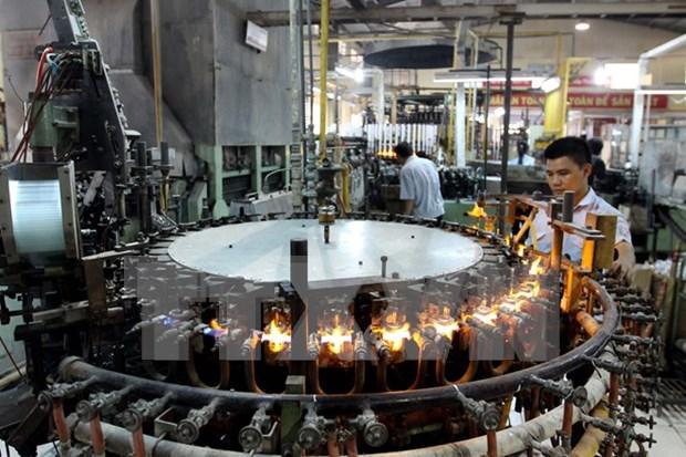 Cae indice de produccion industrial en tercer trimestre hinh anh 1