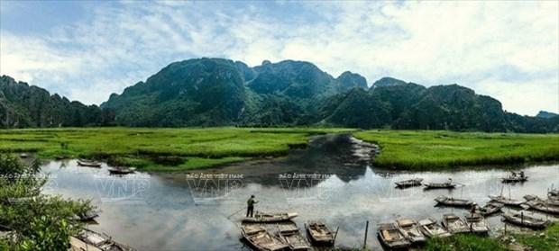 Van Long, atractivo destino ecoturistico para visitantes hinh anh 1
