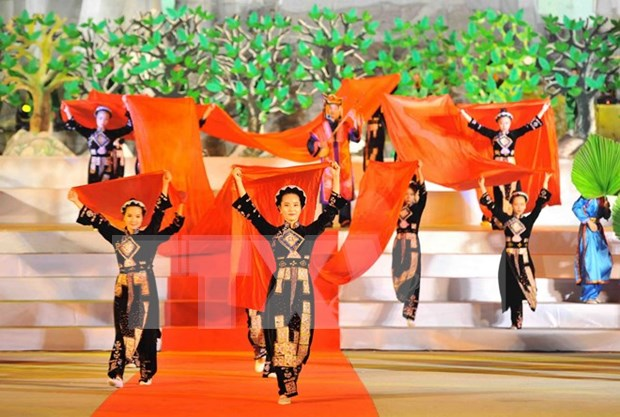 Festival honra a canto Then de minorias etnicas vietnamitas hinh anh 1