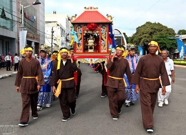 Desarrollan festival en honor a soberano maritimo en Vung Tau hinh anh 1
