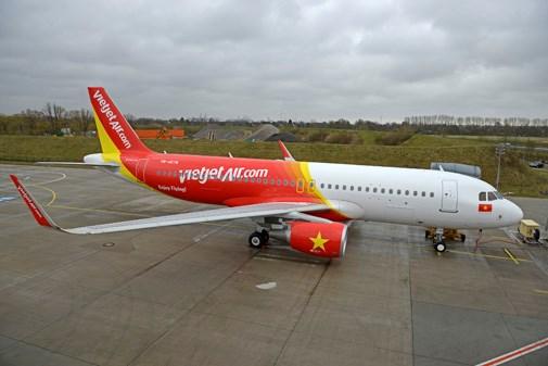 Recibe Vietjet Air otro avion Airbus A320 hinh anh 1