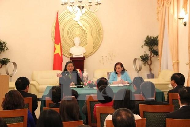 Destacan actividades de Embajada de Vietnam en Alemania hinh anh 1