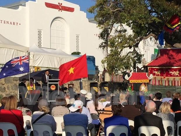 Sobresale presentacion vietnamita en feria agricola en Perth hinh anh 1