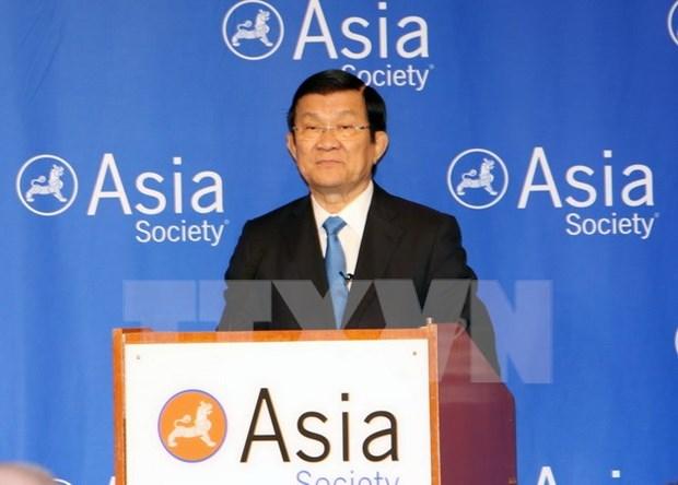 Presidente vietnamita concluye actividades en Estados Unidos hinh anh 1