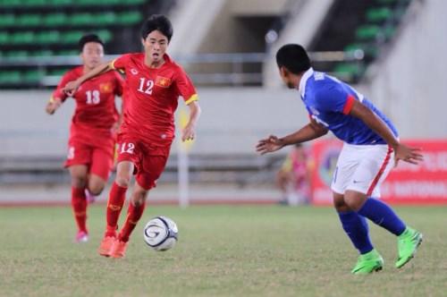 Buen inicio de Vietnam en Torneo asiatico de futbol sub-19 hinh anh 1