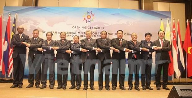 ASEAN inaugura conferencia ministerial sobre delincuencia transnaciona hinh anh 1