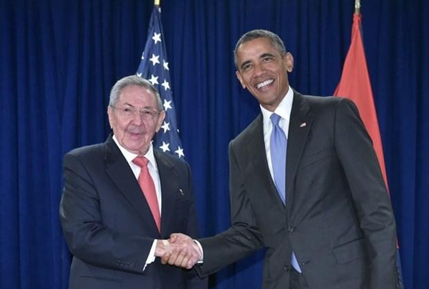 Cuba y Estados Unidos buscan avanzar hacia normalizacion de lazos hinh anh 1