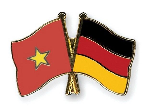 Conmemoran aniversario de nexos diplomaticos Vietnam - Alemania hinh anh 1