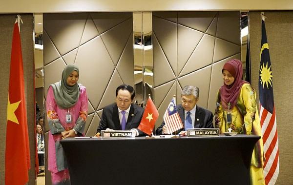 Vietnam y Malasia firman acuerdo de cooperacion contra delincuencia hinh anh 1