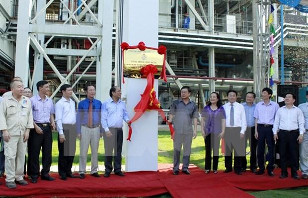 Inaugurada planta termoelectrica An Khanh 1 hinh anh 1