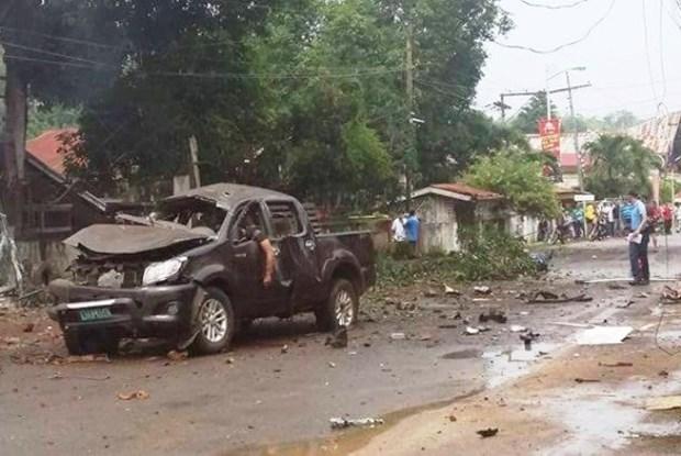 Al menos cuatro muertos por explosion de bomba en Filipinas hinh anh 1