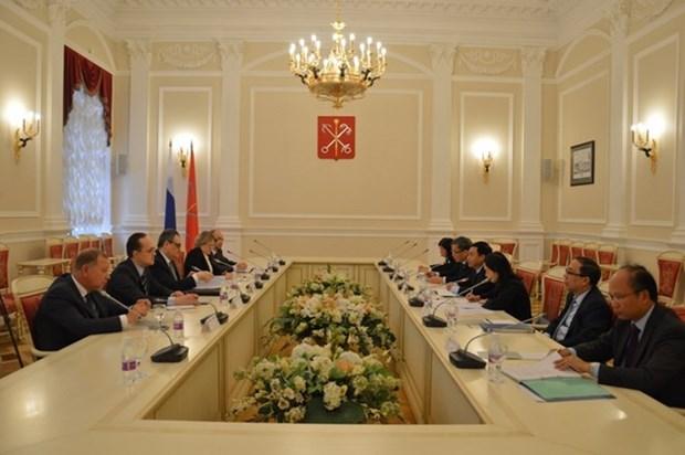 Determinan Vietnam y Rusia fortalecer asociacion estrategica integral hinh anh 1