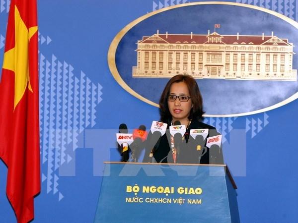 Vietnam critica tergiversaciones de asuntos fronterizos con Cambodia hinh anh 1