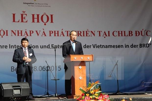 Celebran en Hanoi aniversario de lazos Vietnam- Alemania hinh anh 1