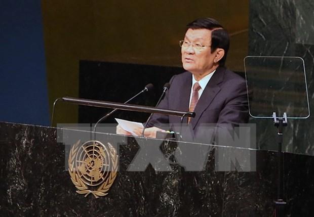Vietnam ratifica politica exterior de paz, cooperacion y desarrollo hinh anh 1