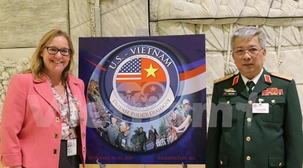 Resaltan eficiente cooperacion en defensa Vietnam- EE.UU. hinh anh 1