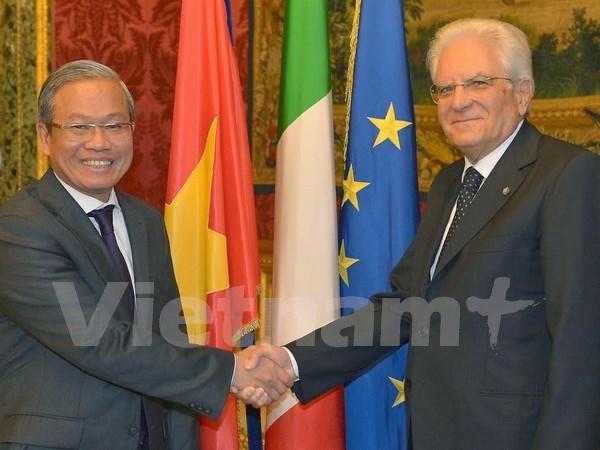 En buena marcha relaciones Vietnam- Italia hinh anh 1