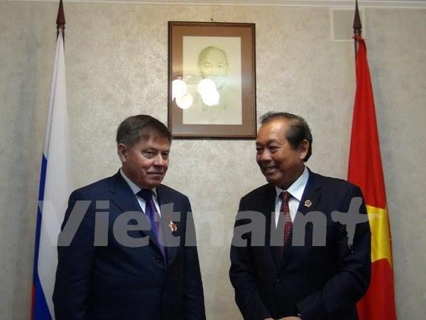 Vietnam desea intensificar cooperacion judicial con Rusia hinh anh 1