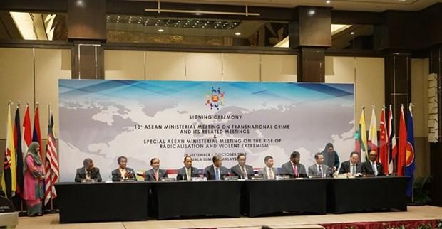 Emite ASEAN declaracion contra delincuencia trasnacional hinh anh 1