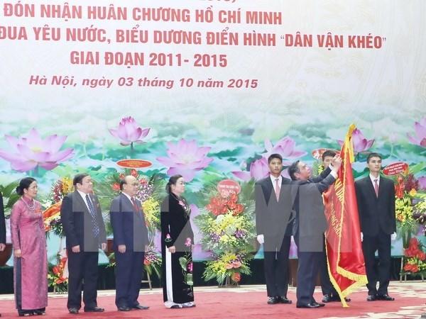 Reconocen en Vietnam el papel del sector de movilizacion de masas hinh anh 1
