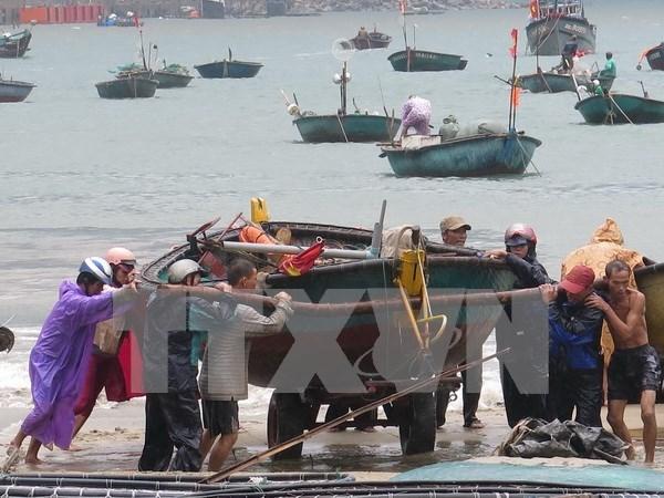 Mantiene alerta Vietnam ante la aproximacion de la tormenta Mujigae hinh anh 1