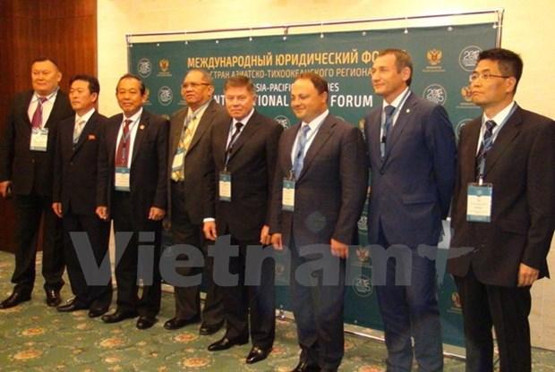 Vietnam asiste al Foro Judicial de Asia Pacifico en Rusia hinh anh 1