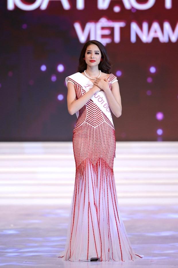 Pham Thi Huong gana Miss Universo Vietnam 2015 hinh anh 2