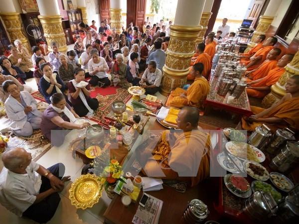 Celebran fiesta Khmer de Sene Dolta hinh anh 1