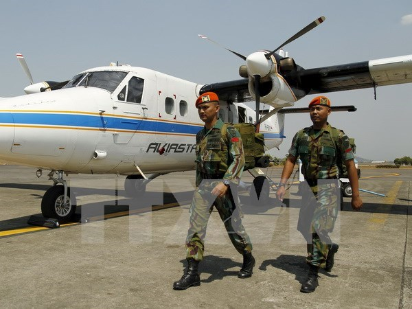 Moviliza Indonesia gran fuerza para rastreo de avion desaparecido hinh anh 1
