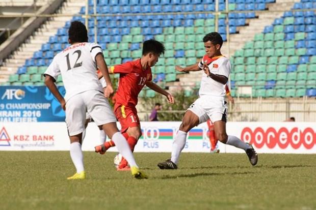 Vietnam en puerta a ronda final de Torneo asiatico de futbol sub 19 hinh anh 1