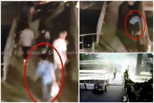 Autor de explosion en muelle de Sathorn en Bangkok fugo a Malasia hinh anh 1