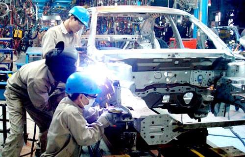 Produccion industrial mantiene nivel de crecimiento hinh anh 1