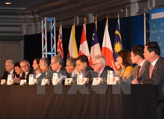 Hitos principales en itinerario de negociaciones del TPP hinh anh 1