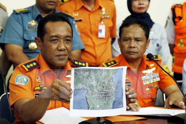 Hallan restos de avion desaparecido en Indonesia hinh anh 1