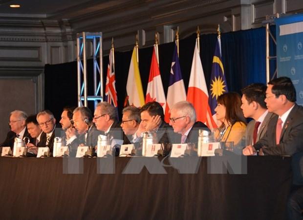 Comunidad internacional aplaude historica conclusion de TPP hinh anh 1