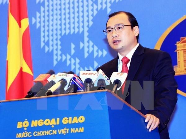 TPP ampliara potencial de cooperacion de Vietnam, dice vocero hinh anh 1