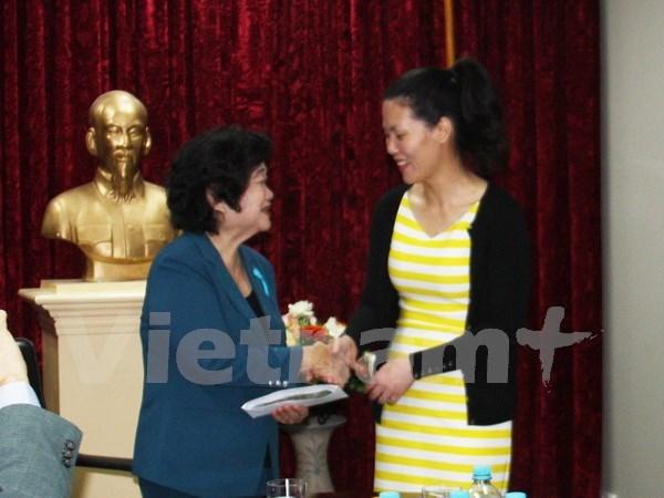 Vietnamitas en Australia respaldan a escolares connacionales hinh anh 1